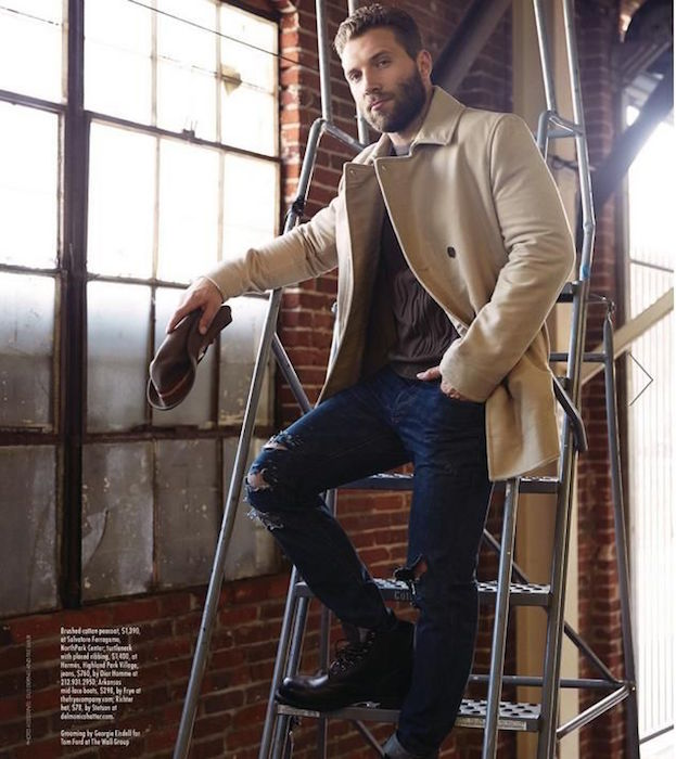 Jai Courtney looking dapper