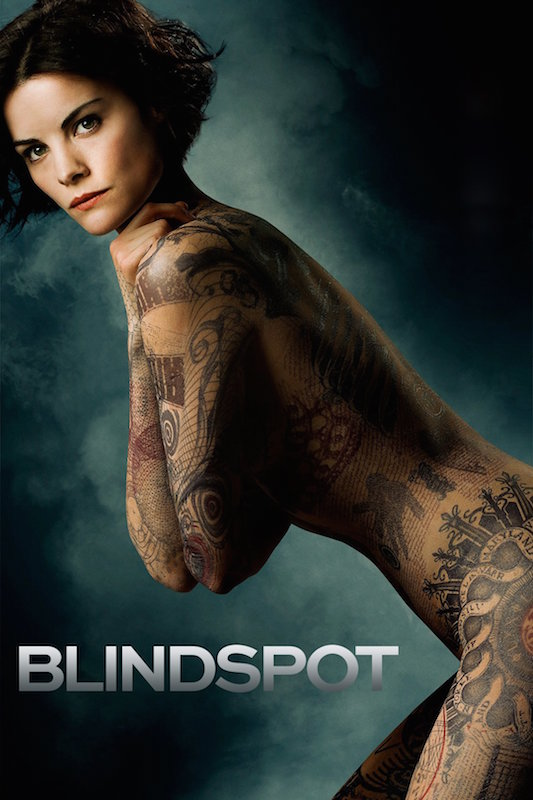 Jaimie Alexander posing for Blindspot in 2015