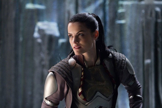 "Jaimie Alexander in a still from ""Thor 2"""