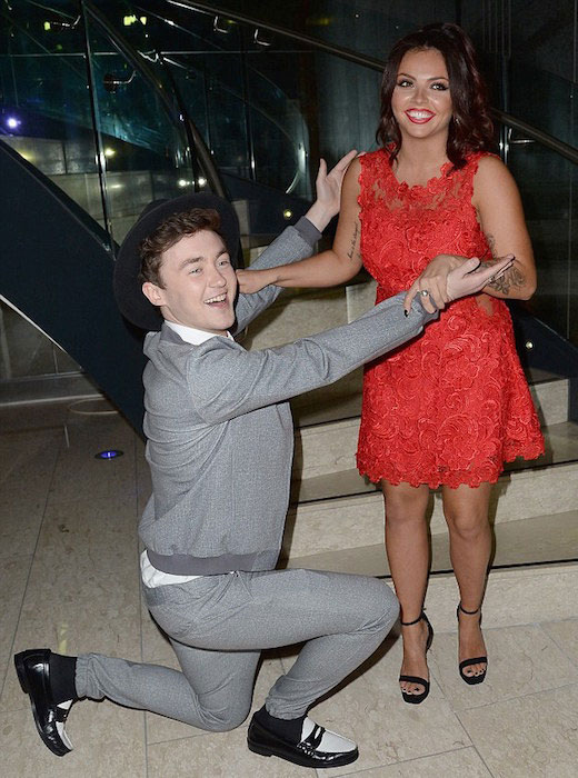 Jake Roche and Little Mix's Jesy Nelson