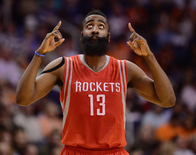 James Harden from Houston Rockets