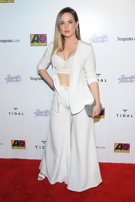 Jojo levesque at 2015 atlantic records bet awards after party in los