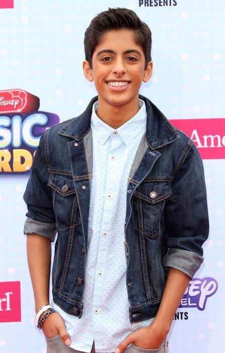Karan Brar at 2015 Radio Disney Music Awards