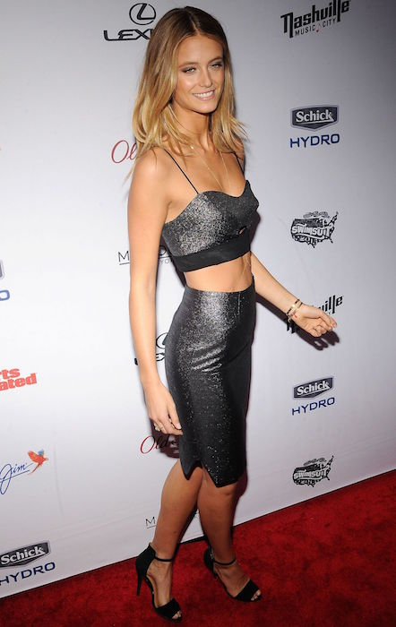 Kate Bock at 2015 Sports Illustrated Swimsuit Issue Celebration in New York City