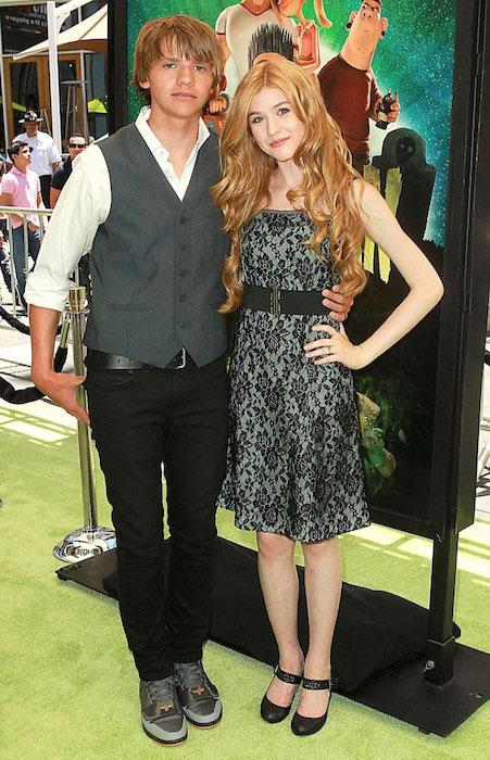 Katherine McNamara and Joel Courtney