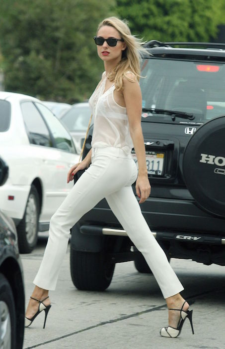 Kimberley Garner Style - Out in Los Angeles in April 2015