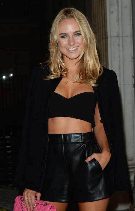 Kimberley Garner at Sorapol Catwalk Show SS 2015 at London Fashion Week