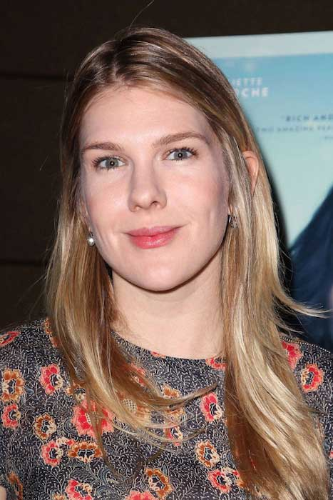"Lily Rabe at ""Clouds of Sils Maria"" Theater Community Screening"