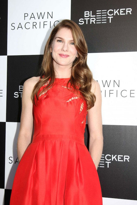 "Lily Rabe during ""Pawn Sacrifice"" Premiere in Los Angeles"