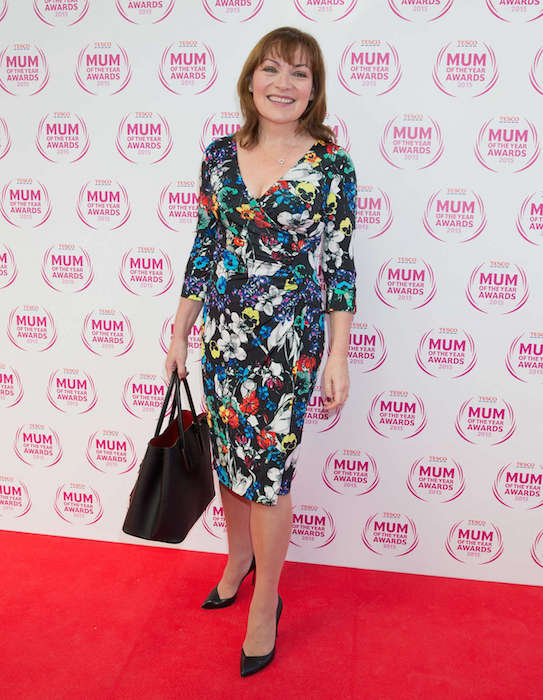 Lorraine Kelly at Tesco Mum Of The Year Awards 2015