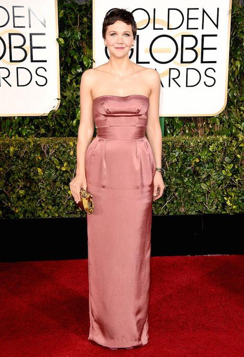 Maggie Gyllenhaal during Golden Globe Awards 2015