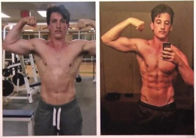 Miles Teller Body Transformation