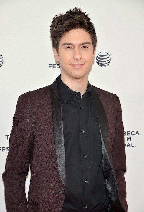 Nat Wolff during the Tribeca International Film Festival 2015