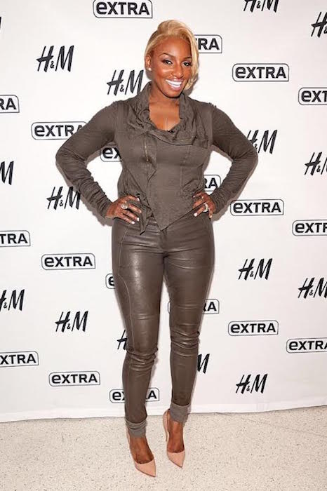 NeNe Leakes at the set of Extra TV and HM Studios in Times Square, New York City