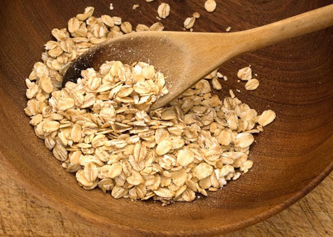 Oats instead of boxed cereals