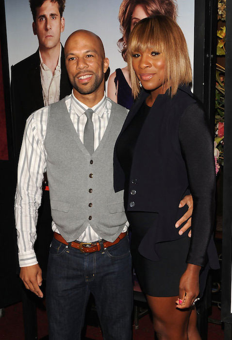 Rapper Common and Serena Williams