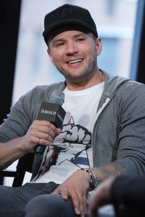 "Ryan Phillippe discussing his new Television Series ""Secrets And Lies"" at AOL Studios in April 2015"