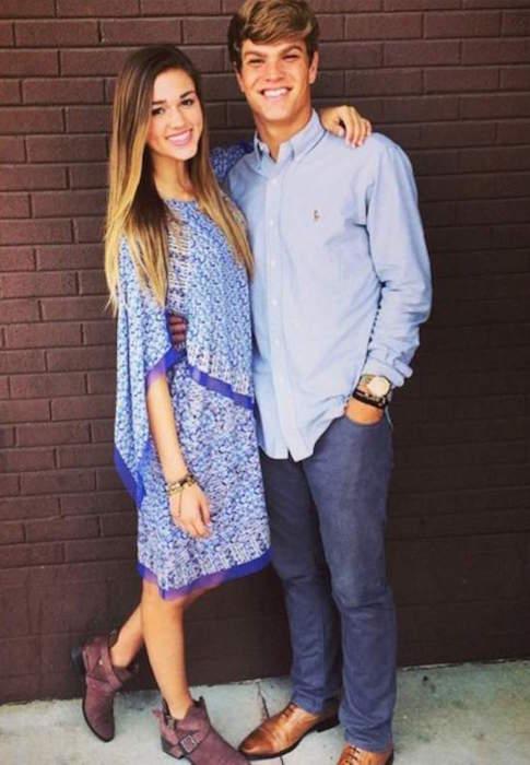 Sadie Robertson and Blake Coward