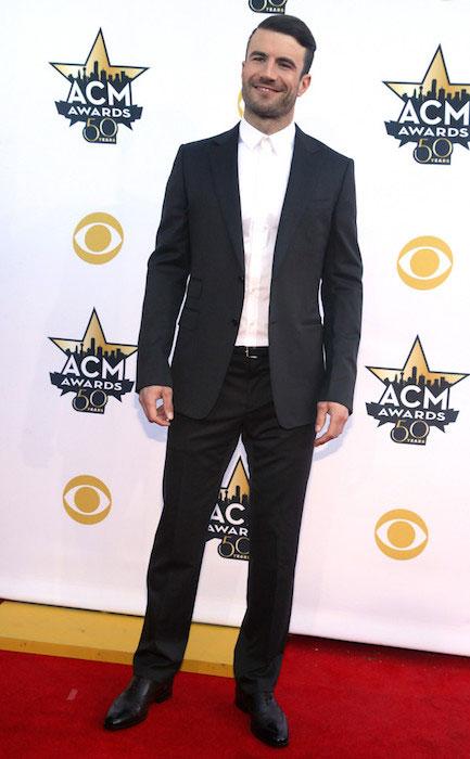 Sam Hunt at 2015 ACM Awards