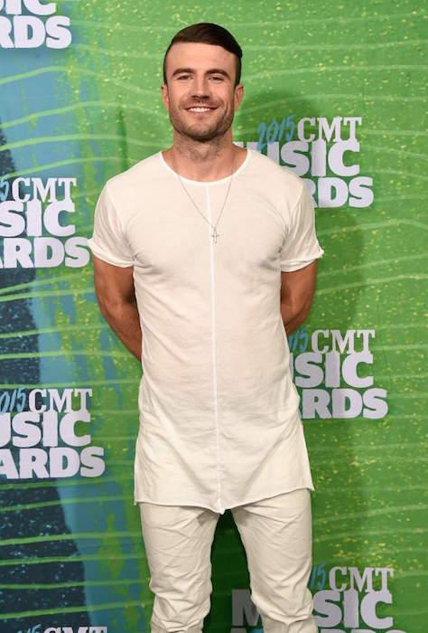 Sam Hunt at 2015 CMT Music Awards