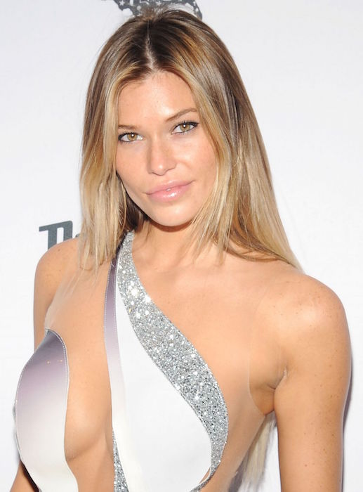 Samantha Hoopes at 2015 Sports Illustrated Swimsuit Issue celebration in New York City