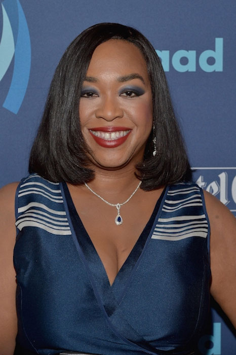 Shonda Rhimes close up