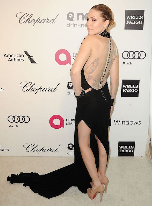 Skylar Grey at 2014 Elton John Oscar Party