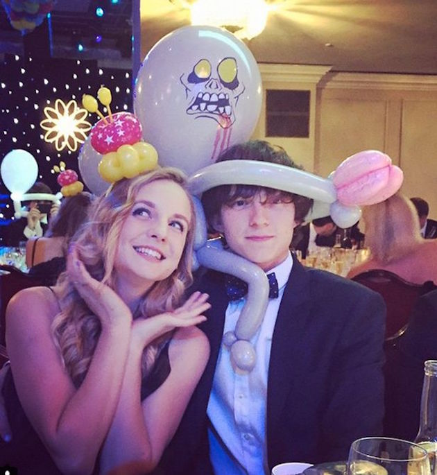 Tom Holland and Elle Lotherington