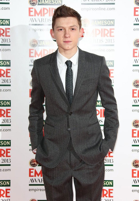 Tom Holland at Jameson Empire Film Awards 2013