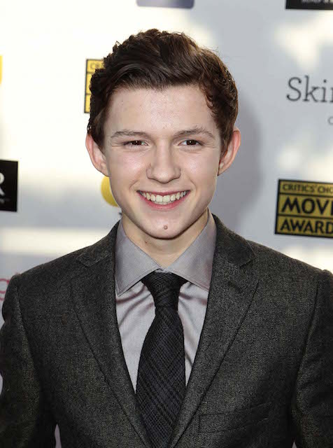 Tom Holland at 18th Annual Critics Choice Movie Awards in 2013