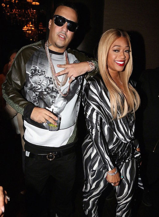 Trina and French Montana