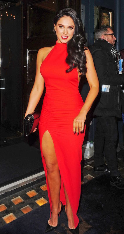 Vicky Pattison at Cafe De Paris in Central London in February 2015