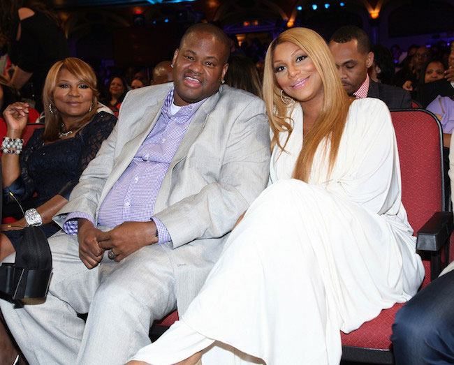Vincent Herbert and Tamar Braxton during the BET Celebration of Gospel 2013