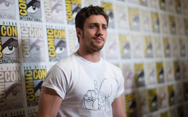 Aaron Taylor-Johnson at San Diego Comic Con International in 2014