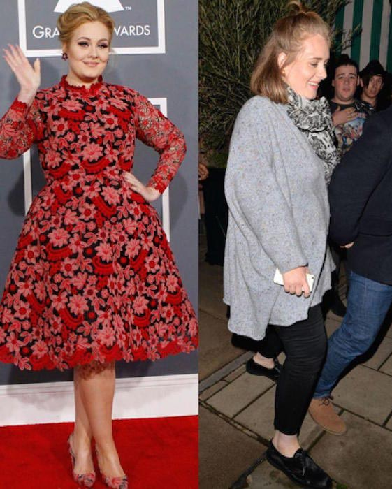 Adele weight loss - unrecognizeable
