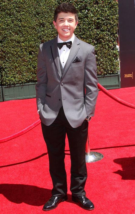Bradley Steven Perry at 2014 Creative Arts Emmy Awards