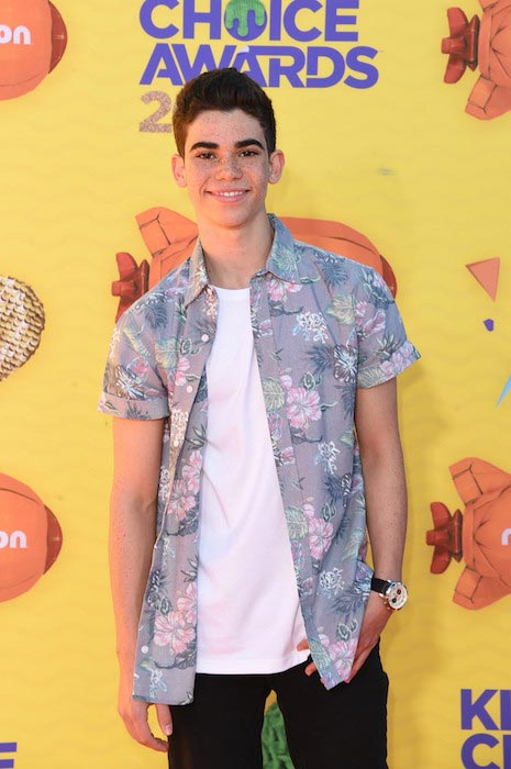 Cameron Boyce at Nickelodeon's Annual Kids Choice Awards 2015