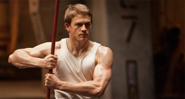 Charlie Hunnam biceps