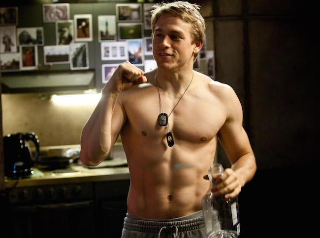 Charlie Hunnam shirtless body