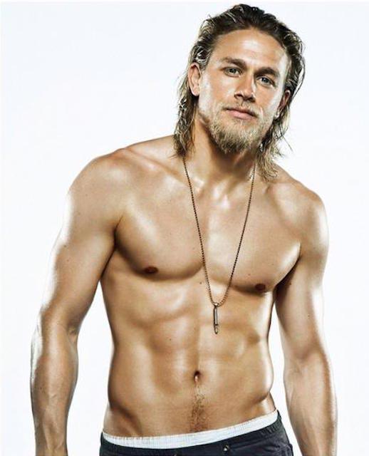 Charlie Hunnam shirtless