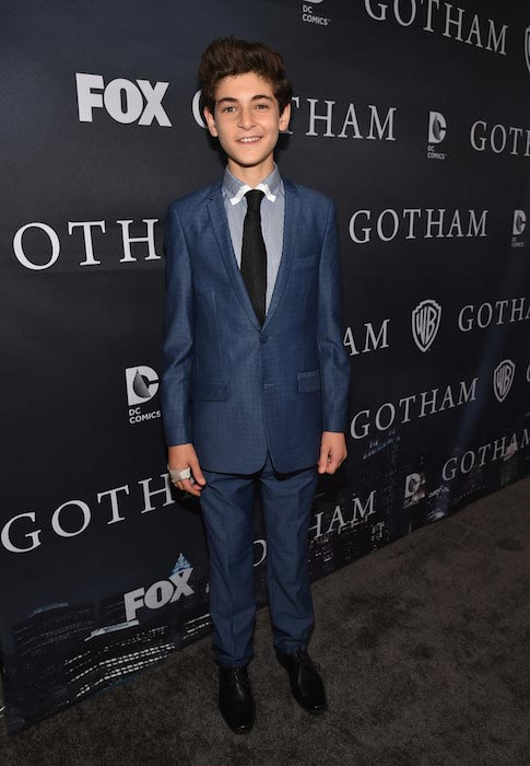David Mazouz at Fox's Gotham Season Finale Screening in April 2015
