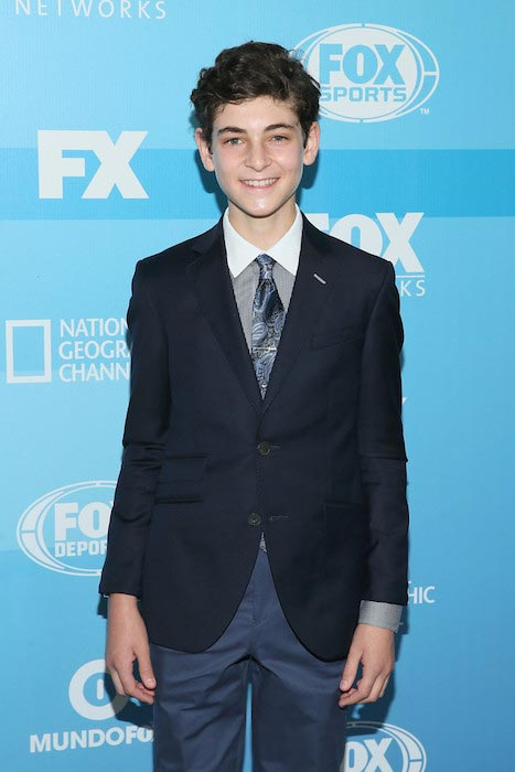 David Mazouz at the 2015 FOX programming presentation