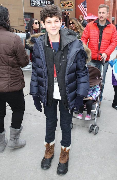David Mazouz at the 2015 Sundance Film Festival