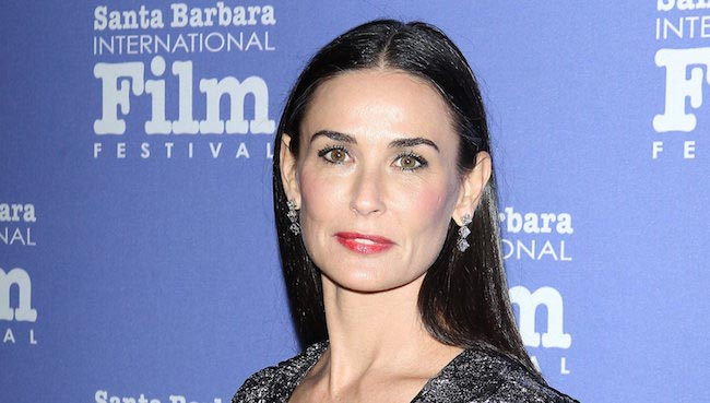 Demi Moore at Santa Barbara International Film Festival in November 2014