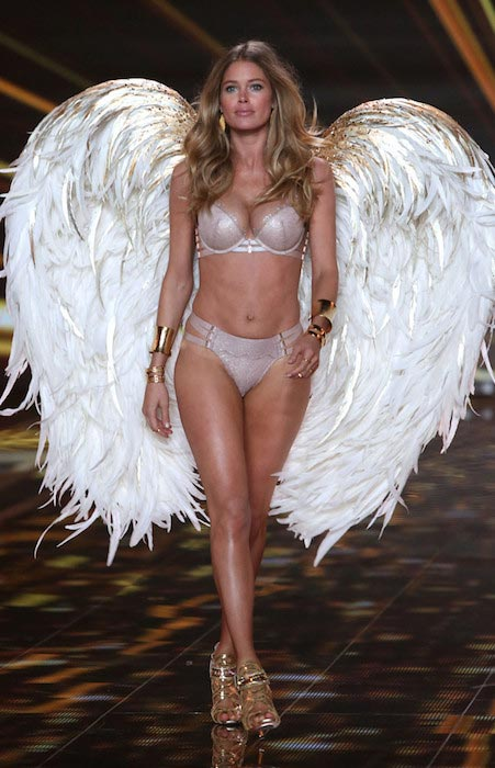 Doutzen Kroes during VS Show 2014
