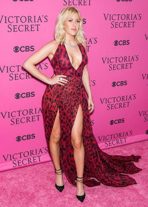 Ellie Goulding at Victoria's Secret Fashion Show 2015