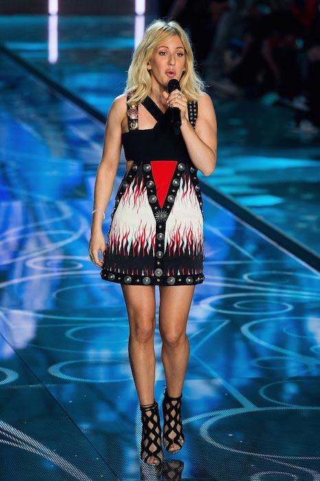 Ellie Goulding performing at Victoria's Secret Fashion Show