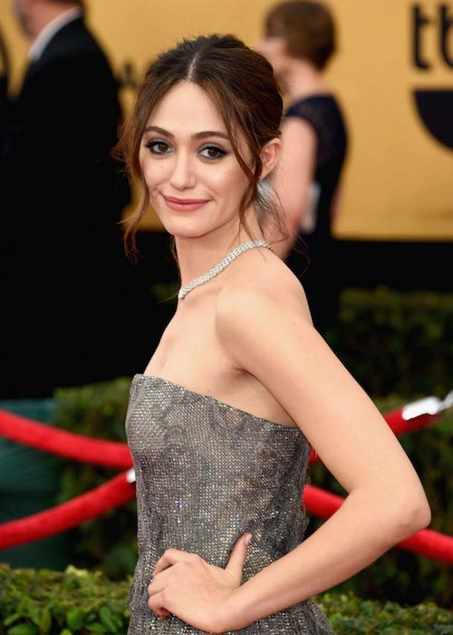Emmy Rossum at 2015 SAG Awards in January
