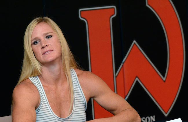 Holly Holm headshot