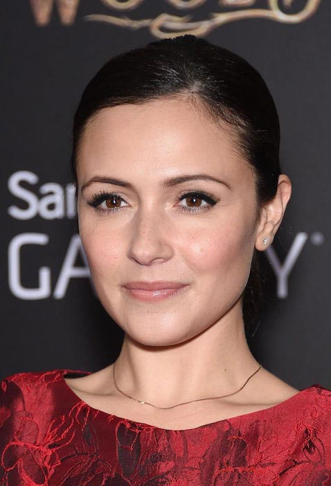 """Italia Ricci at """"Into the Woods"""" premiere in New York City"""